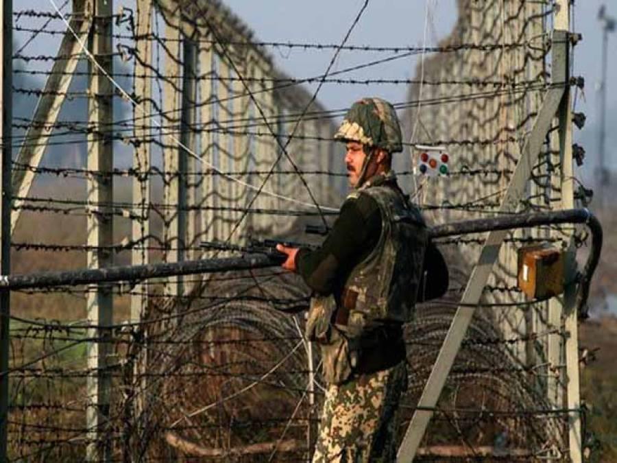 پاکستانی حدود میں داخل ہونے والا بھارتی فوجی گرفتار