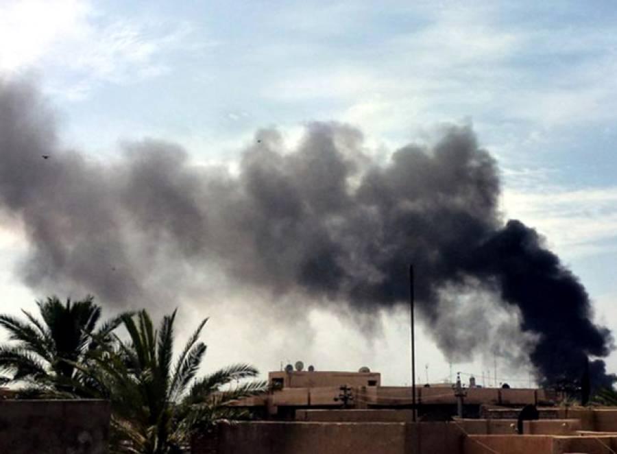 موصل میں داعش کی شرعی عدالت پر بمباری، جج سمیت 60 جنگجو مارے گئے
