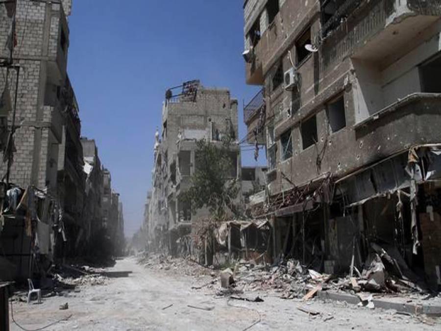 شام: مسجد کے باہر دھماکے میں 22 نمازی شہید