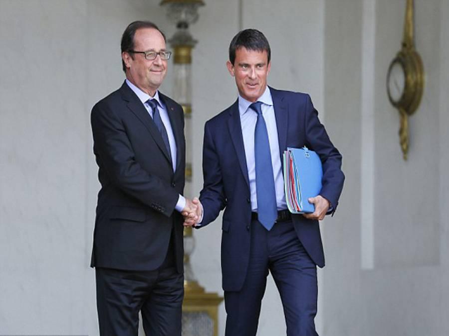 فرانسیسی وزیراعظم مستعفی، سیاسی بحران سنگین ہوگ