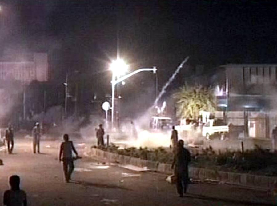 ملک بھر میں احتجاجی مظاہرے شروع، لبرٹی چوک میں توڑ پھوڑ، رائیونڈ جانے والے راستے سیل
