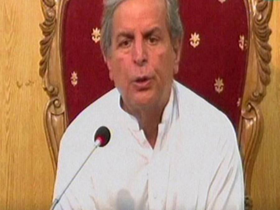 باغی پھر نالاں ، پی ٹی آئی کے فیصلے کے برعکس شیخ رشید کے کہنے پر عمران خان پریڈگراﺅنڈ کی طرف بڑھے :جاوید ہاشمی