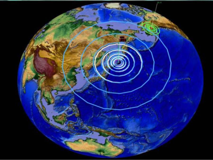 ملک کے مختلف علاقوں میں زلزلہ