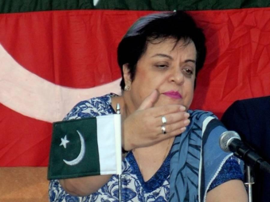 حکومت نے عمران خان کو نشانہ بنانے کی تیاری کرلی: شیریں مزاری