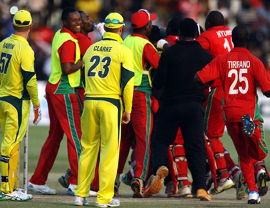 زمبابوے نے 31 سال بعد تاریخ رقم کر دی، آسٹریلیا کو 3 وکٹوں سے شکست