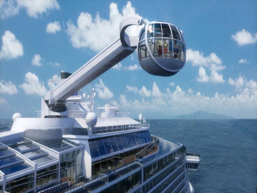 زندگی کی ہر سہولت سے آراستہ دنیا کا جدید ترین بحری جہاز