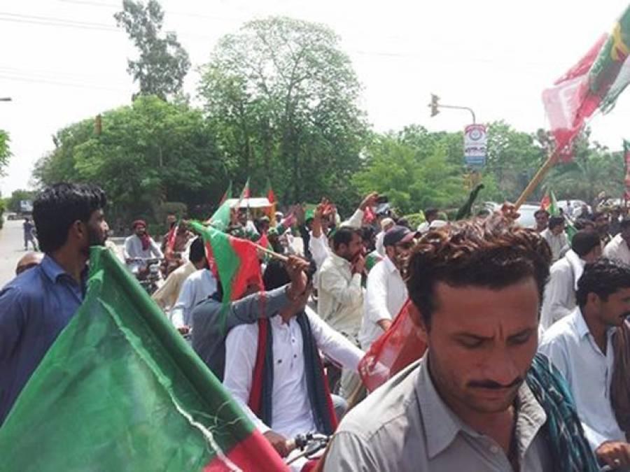 میانوالی میں تحریک انصاف کے جلسے کی تیاریاں مکمل ، قافلوں کی آمد جاری