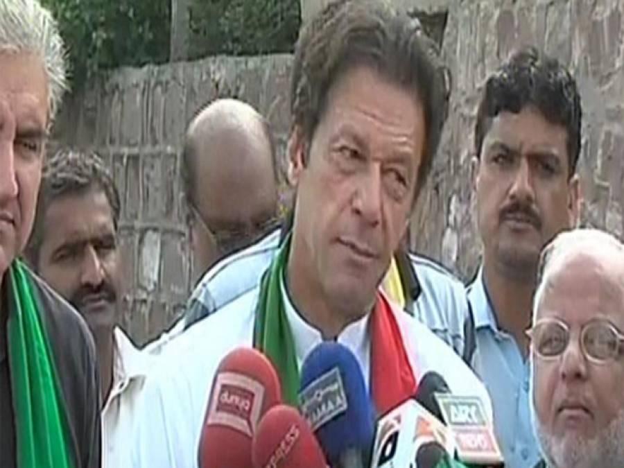 تحریک انصاف کا لاڑکانہ میں جلسے کا اعلان ،بچے بچے کی زبان پر 'گونوازگو' کا نعرہ ہے:عمران خان