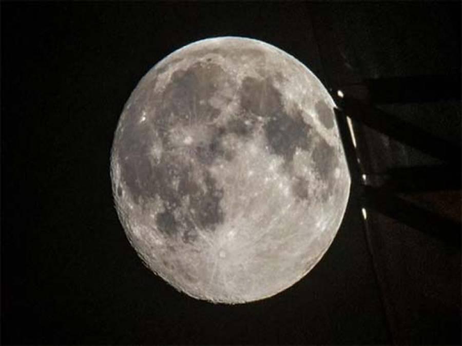 چاند پر چہرہ نما گڑھا لاوے سے بنا:سائنسدان