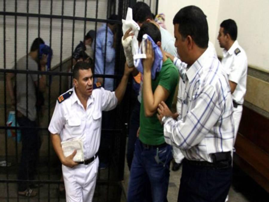 مصرمیں ہم جنس پرستوں کی شادی کی ویڈیو منظرعام پر آگئی ، آٹھ ملزمان کو عمر قید