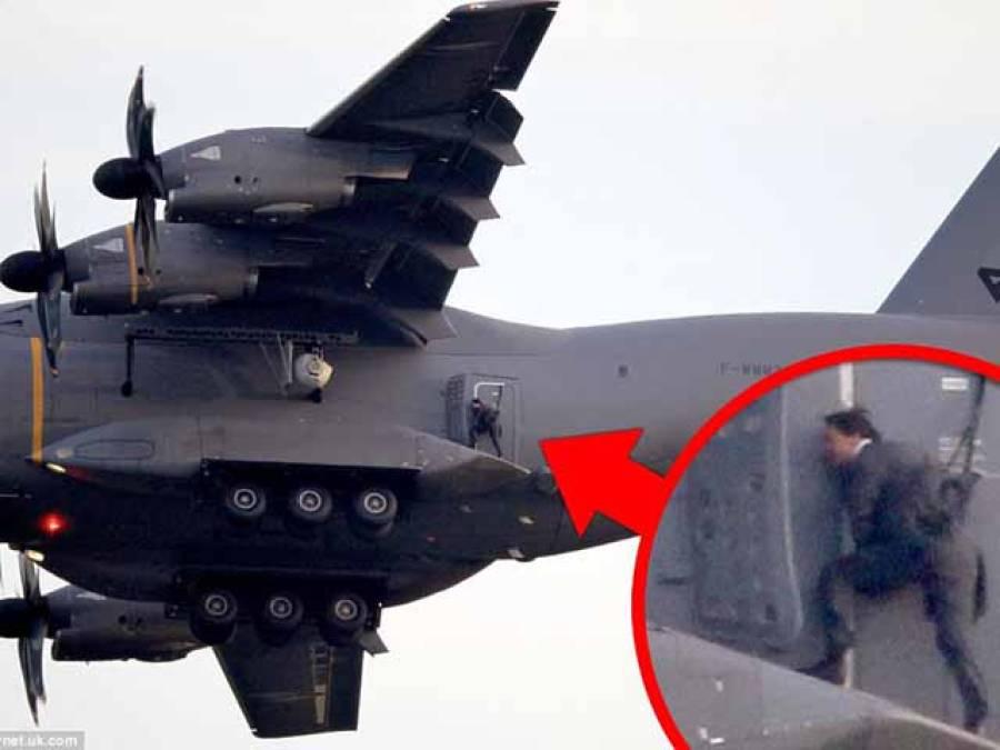 امریکی اداکار ٹام کروز کا نئی فلم کے لیے انتہائی خطرناک کرتب