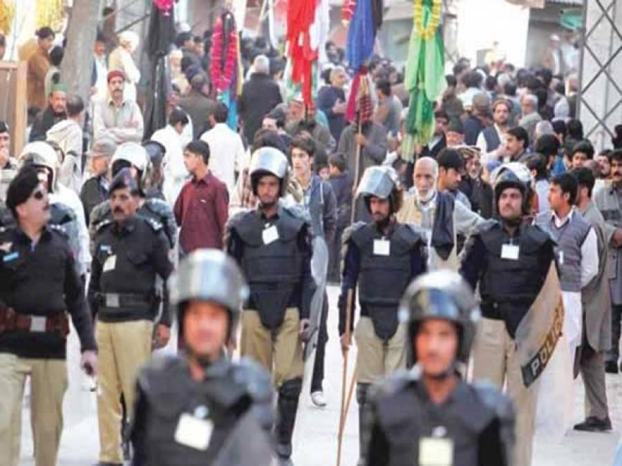 یوم عاشور پر ملک بھر میں سیکورٹی ہائی الرٹ، 54 اضلاع حساس قرار دیدیئے گئے