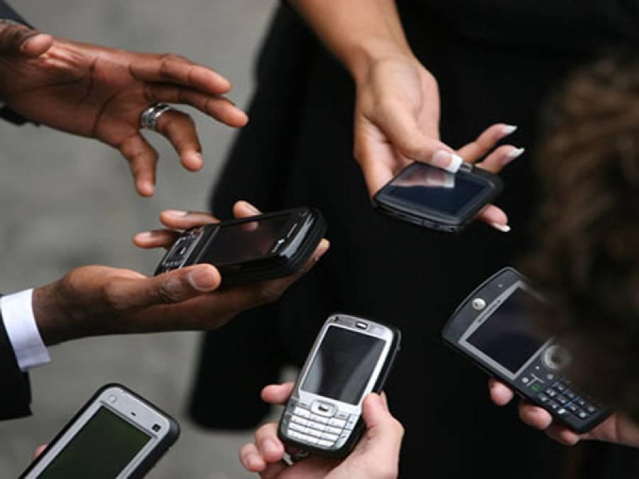 کراچی کے مختلف علاقوں میں موبائل فون سروس بحال ہونا شروع
