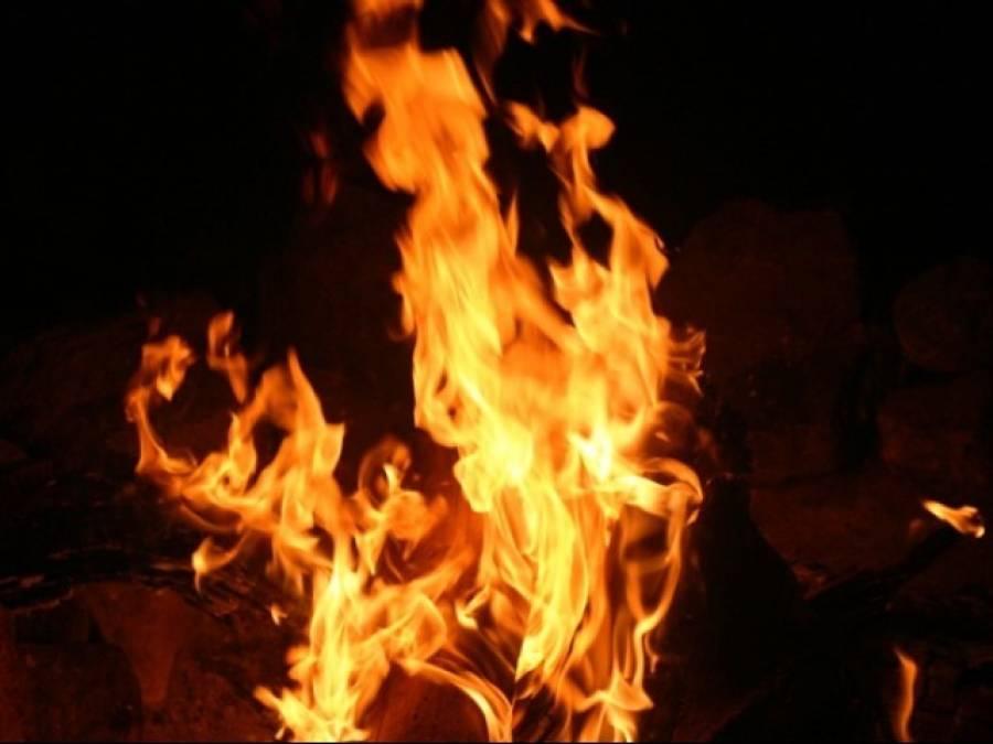 کوٹ رادھا کشن: میاں بیوی کو زندہ جلانے کی ایف آئی آر درج