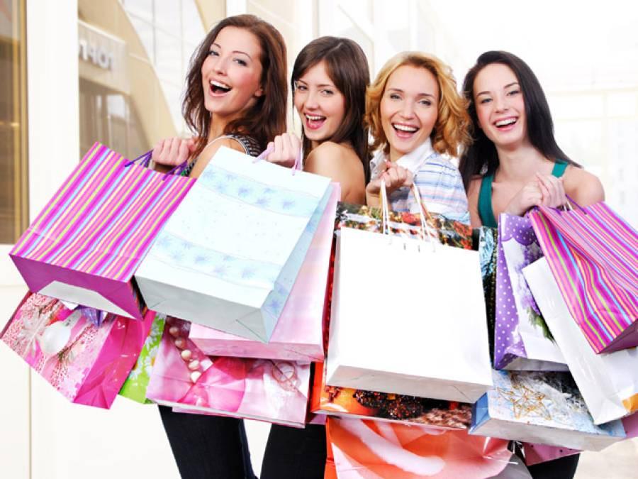 خواتین کے لیے خوشخبری،شاپنگ ، کا اہم ترین فائدہ تحقیق میں سامنے آگیا