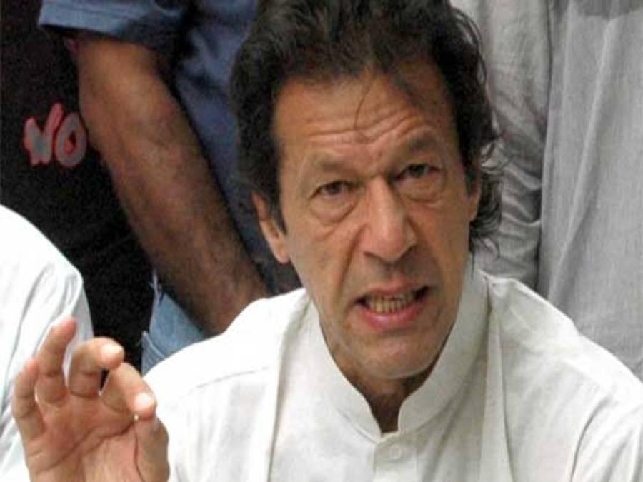 عمران خان کا قافلہ چناب چوک پہنچ گیا