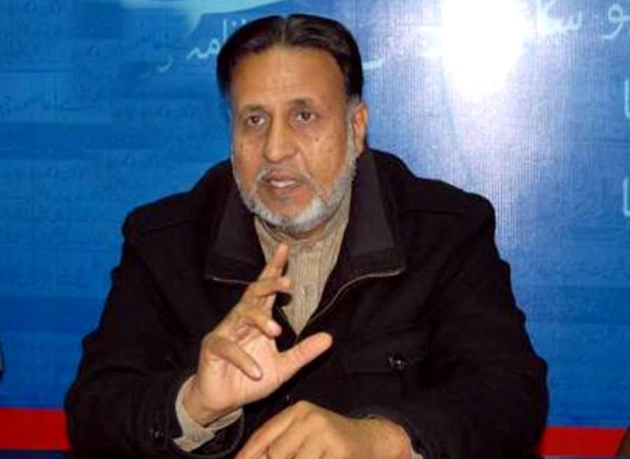 تبدیلی کی تحریک میں شہیدوں کا لہو شامل ہوگیا، ہر شہر میں احتجاج کریں گے: محمود الرشید