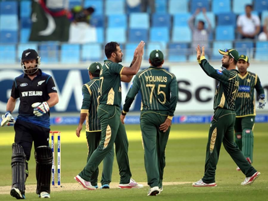 پہلا ون ڈے: نیوزی لینڈ نے پاکستان کو جیت کیلئے 247 رنز کا ہدف دیدیا