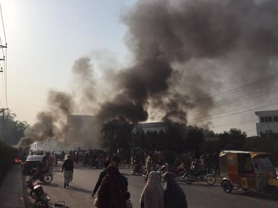 فیصل آباد میں جلاﺅگھیراﺅ پر پی ٹی آئی کیخلاف مقدمہ درج
