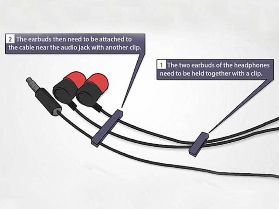 ہیڈ فونز کی تاروں کو الجھنے سے روکنے کا آسان ترین طریقہ