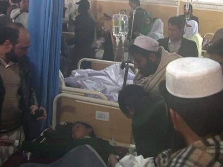 سانحہ پشاور، ہسپتالوں میں موجود عملہ بھی روتارہا