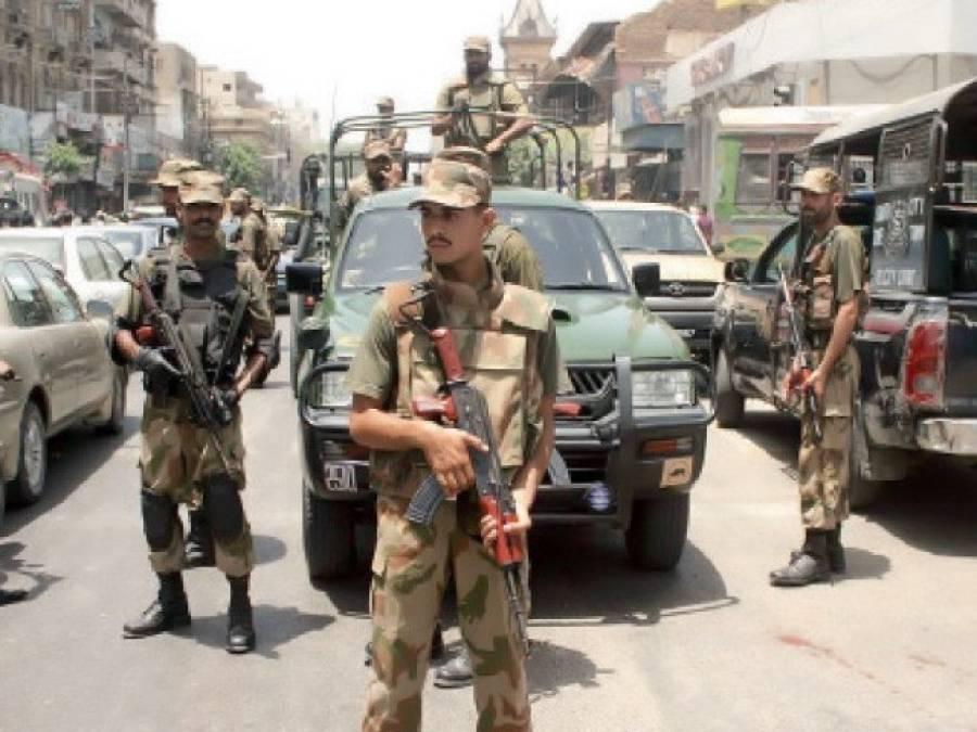 کراچی رینجرز کی ایک گھنٹے میں 2 کاروائیاں ، 7 دہشت گرد ہلاک