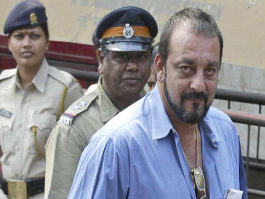 بھارتی فلم سٹار سنجے دت 14 روز کے لئے جیل سے رہا