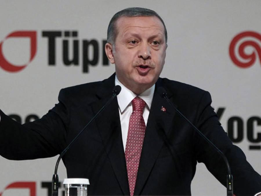 ترک صدر طیب اردگان کو' کرپٹ'کہنے پر کمسن لڑکا دھر لیا گیا