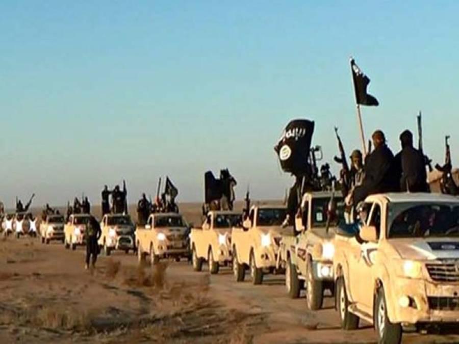 نامعلوم طیارے نے داعش کو ہتھیاروں کی کھیپ گرادی