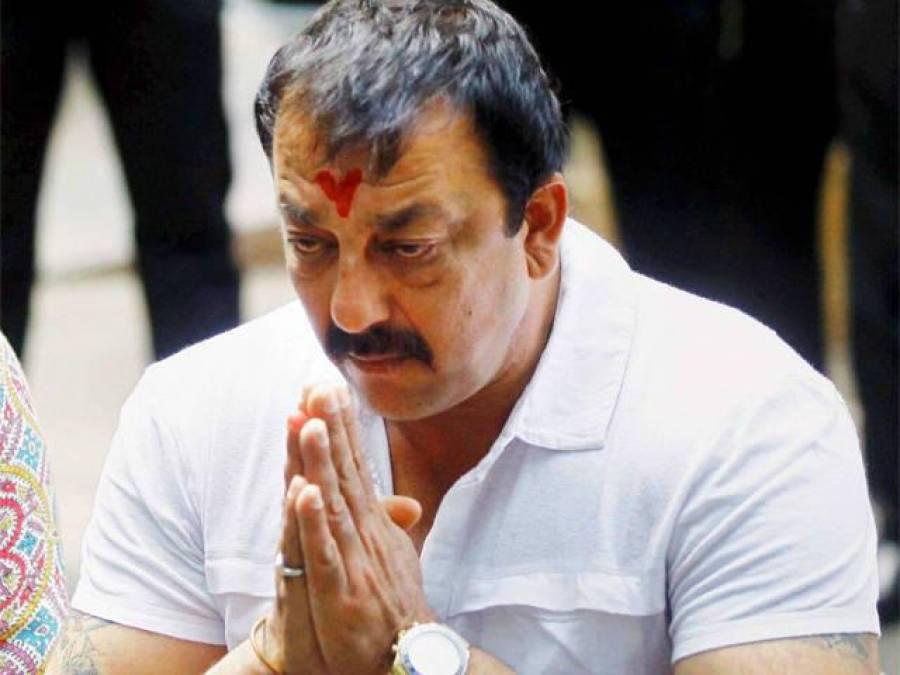 سنجے دت کی جیل سزا میں چار روز کی توسیع