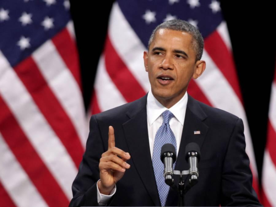 دہشت گردی اسلام کے خلاف پروپیگینڈا ہے ، مسلمان سب سے زیادہ متاثر ہوئے ہیں : باراک اوباما
