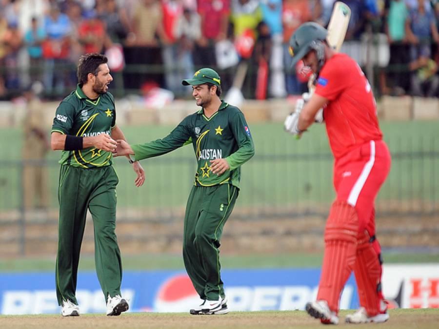 پاکستانی ٹیم بھی یواے کے نقش قدم پر چل پڑی ، دوسری سست ترین ففٹی
