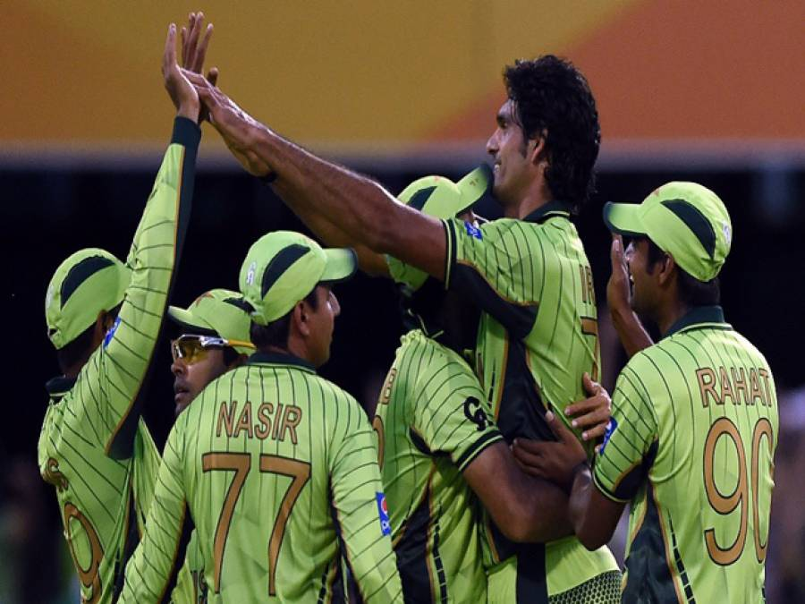 ورلڈ کپ2015،زمبابوے کو شکست دے کر پاکستان نے پہلی کامیابی حاصل کرلی