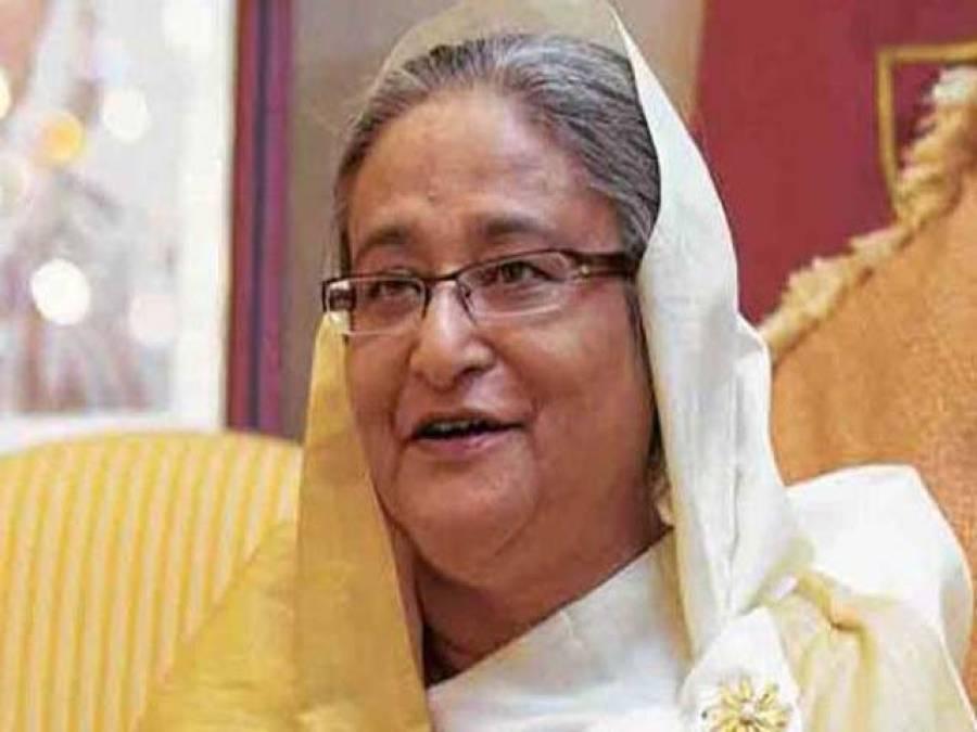 بنگلہ دیش کی وزیراعظم حسینہ واجد بم حملے میں بال بال بچ گئیں