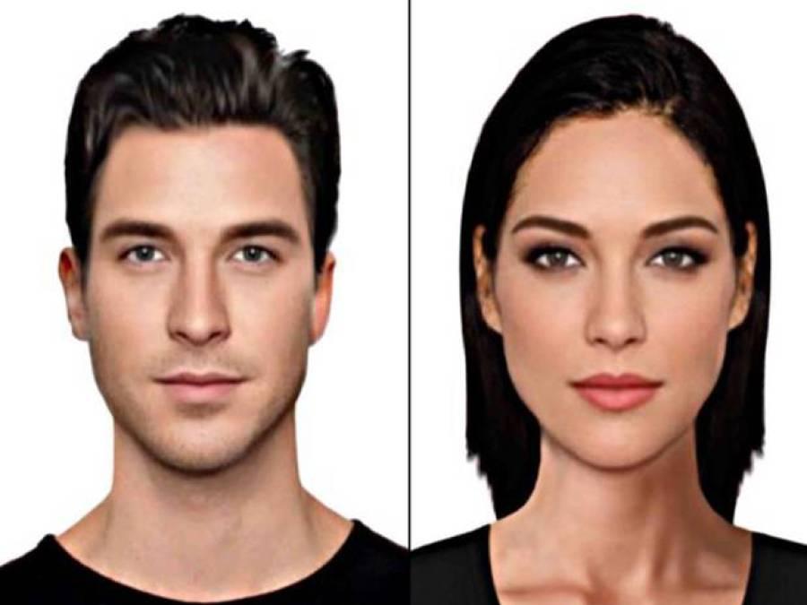 دنیا کے خوبصورت ترین مرد اور عورت کیسے دکھنے چاہیئں؟کمپیوٹر نے تصویر بنا کر دے دی