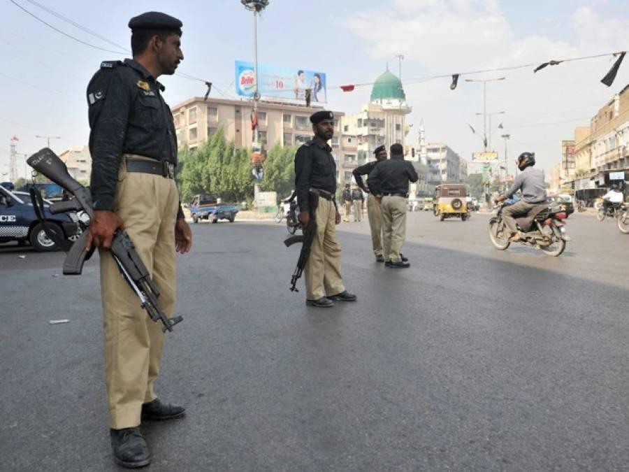 تھانہ حا مد پور پر حملہ ،پولیس کا علاقے میں سرچ آپریشن
