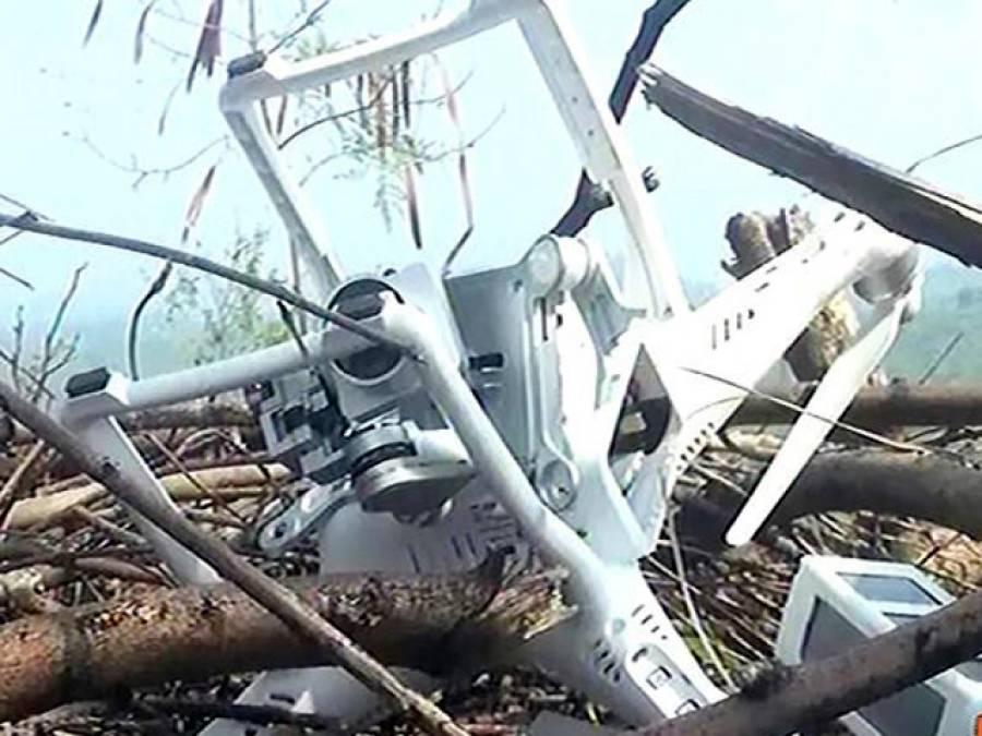 آزاد کشمیر میں بھارتی ڈرون مار گرائے جانے کی خبریں بے بنیاد ہیں: بھارتی فوج