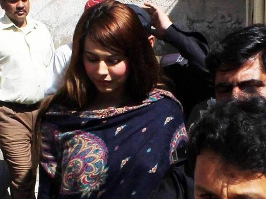 ماڈل ایان علی کو ملازمین کے گیٹ سے رہا کیا گیا