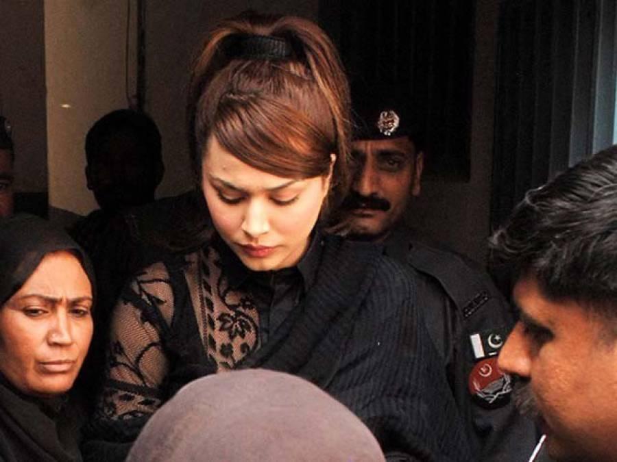 ایان علی اسلام آباد سے کراچی روانہ ہو گئیں