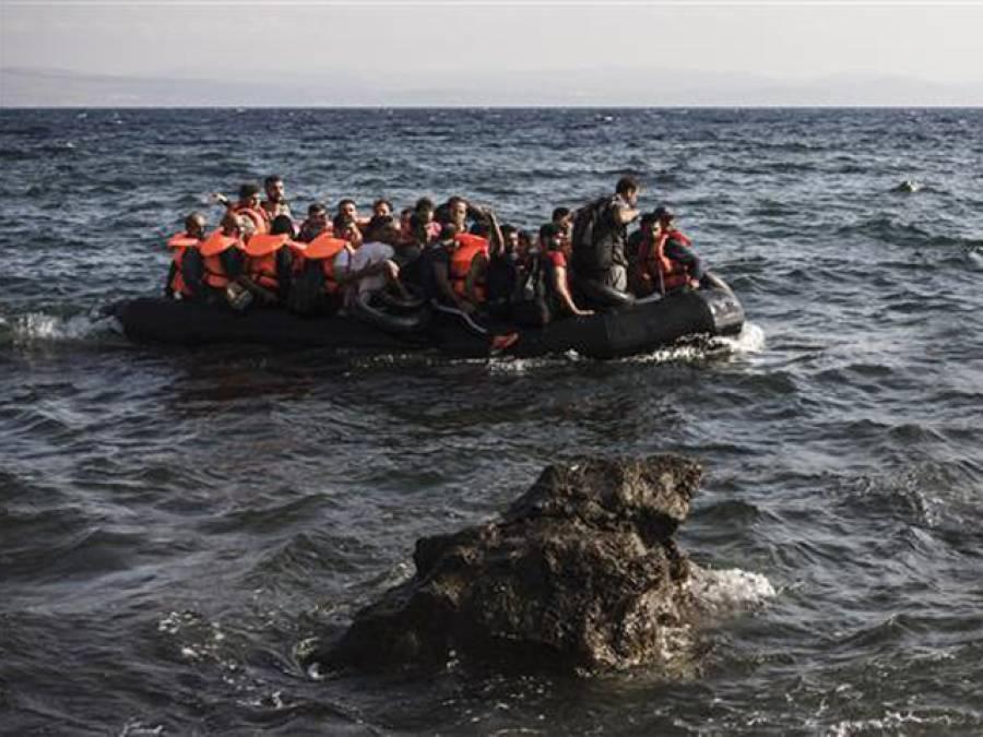 ترکی کے سمندر میں تارکین وطن کی ایک اور کشتی ڈوب گئی، 12 ہلاک