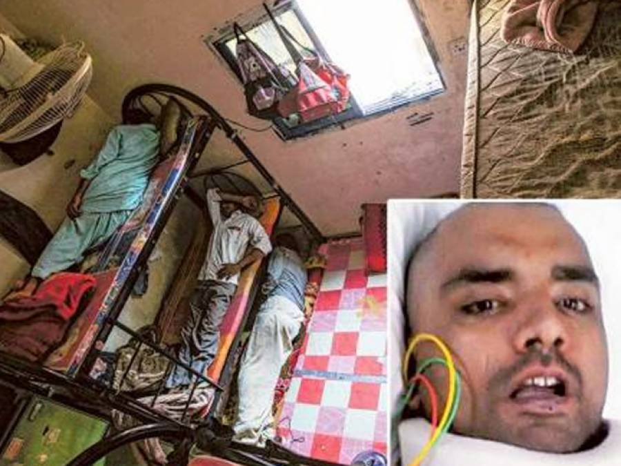 دبئی میں بنک بیڈ سے گر کرایک پاکستانی مزدور زندگی بھرکیلئے معذور ہو گیا