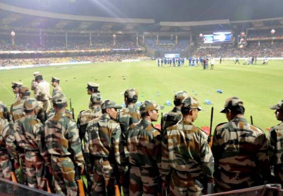 بھارت افریقہ میچ کے دوران راجکوٹ فوجی چھاونی میں تبدیل ، انٹرنیٹ بھی بند