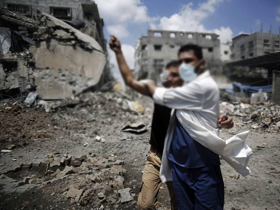 اسرائیلی جارحیت، حماس نے روس سے مداخلت کی درخواست کر دی، روس کی مددکرنے کی یقین دہانی