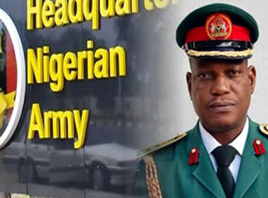 نائیجیریا میں بوکو حرام کے خلاف لڑائی میں شکست پر فوج کا جنرل عہدے سے برطرف