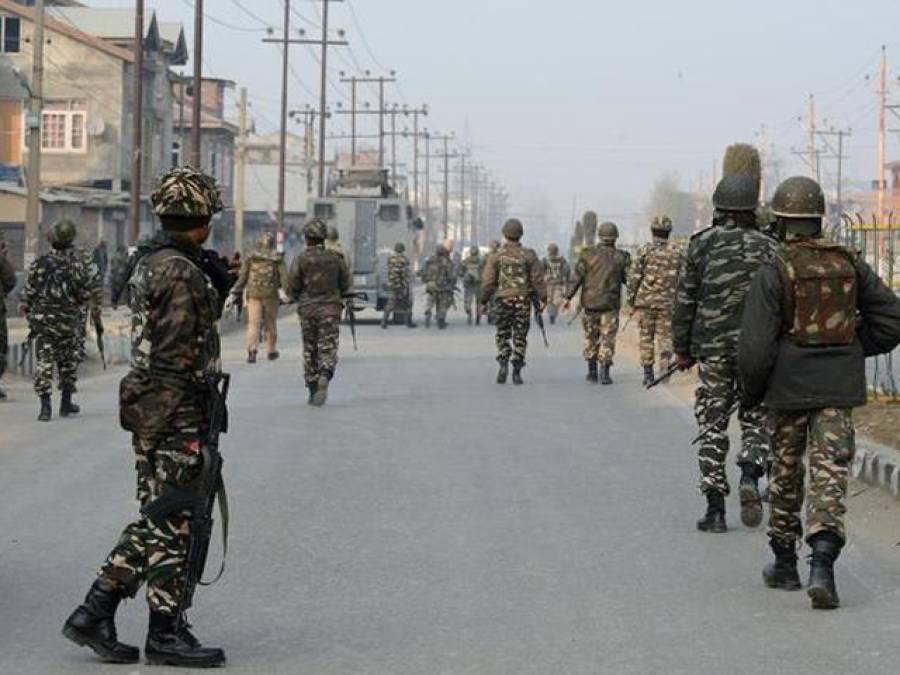 مقبوضہ کشمیر جھڑپ میں میجر سمیت 4 بھارتی فوجی ہلاک , لشکر طیبہ کا کمانڈرشہید کرنے کا دعویٰ