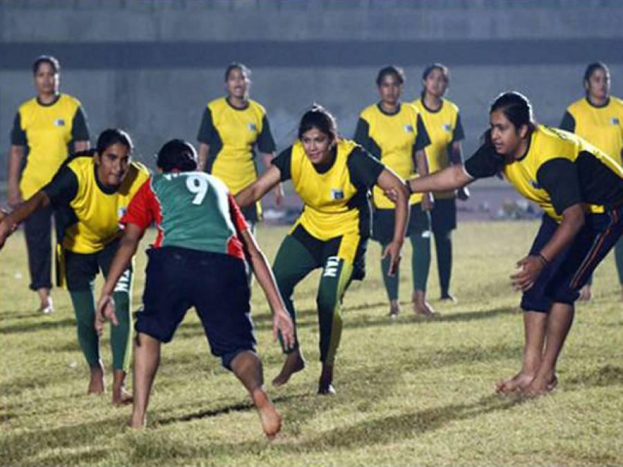 سخت کشیدگی کے باوجود پاکستانی ویمنز کبڈی ٹیم کو بھارت بھیجنے کا فیصلہ