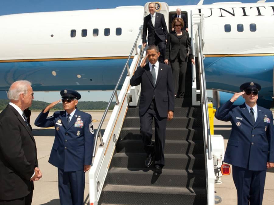 کیا آپ کو معلوم ہے امیریکی صدر کے طیارے کی پرواز پر 2 کروڑ روپے فی گھنٹہ خرچ آتا ہے، جانئے ایئرفورس ون کے بارے میں حیران کن حقائق