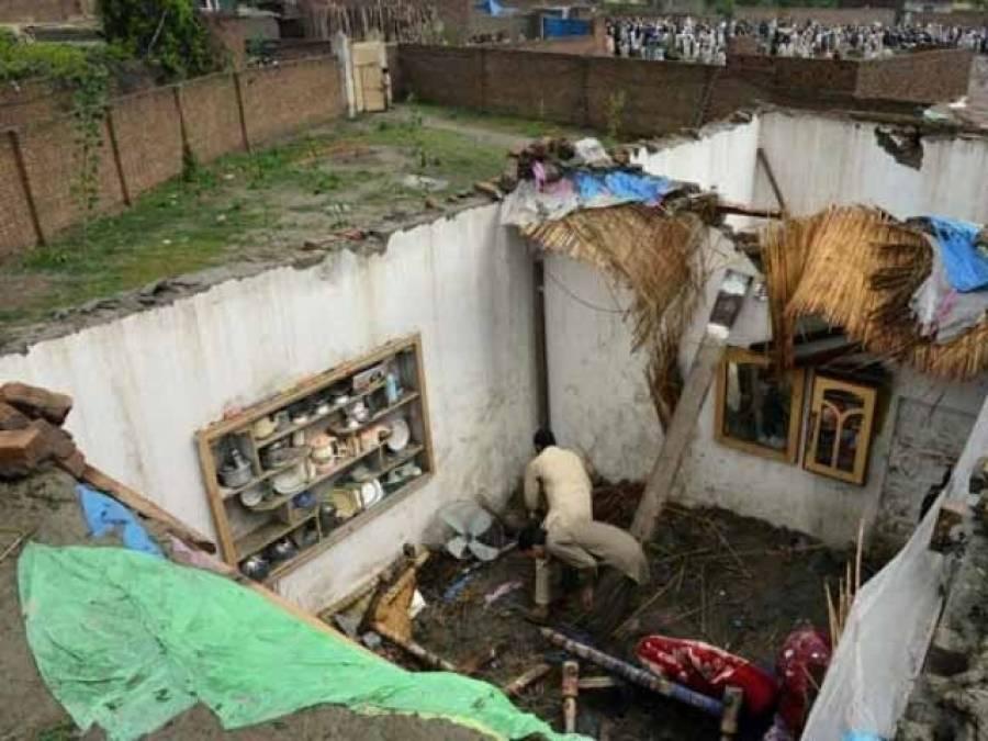 خیر پور : مکان کی چھت گرنے سے بچی سمیت چار ہلاک