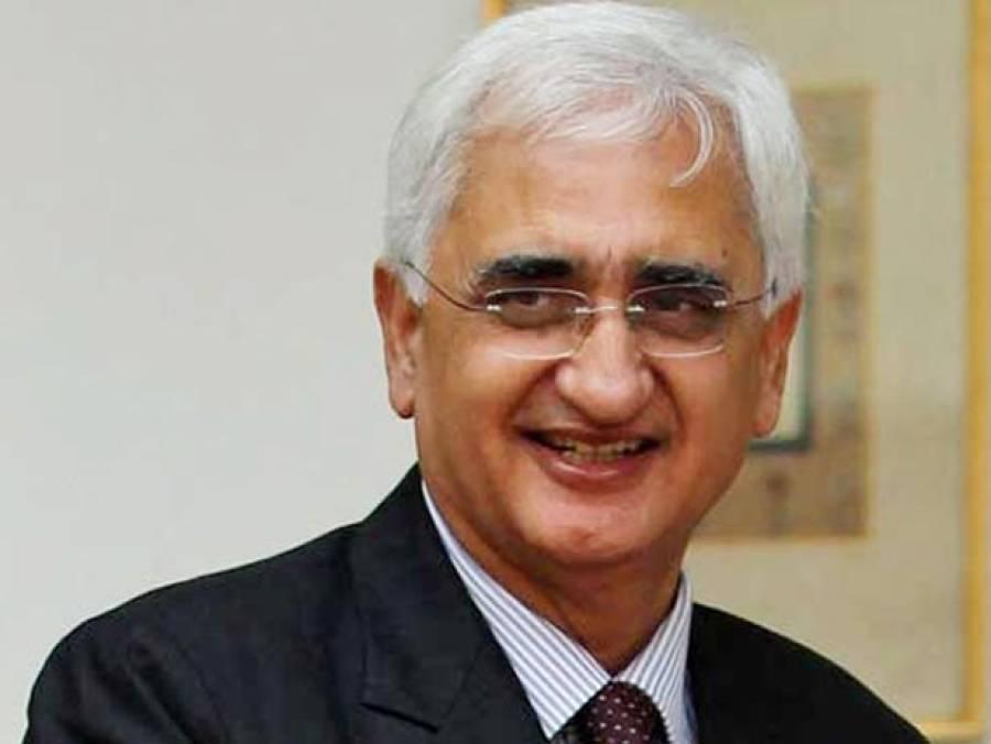 بی جے پی حکومت جنوبی ایشیامیں امن کے قیام میں ناکام ہوگئی:سابق بھارتی وزیر خارجہ سلمان خورشید