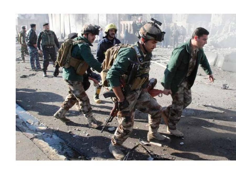 شمالی بغداد میں سیکیورٹی چیک پوائنٹ پر خود کش حملہ،7 افراد ہلاک اور 16 زخمی